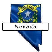 Nevada flag outline