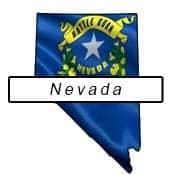 Nevada flag outline