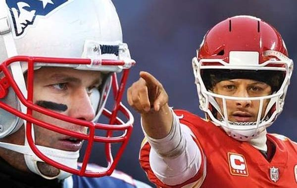 Brady and Mahomes