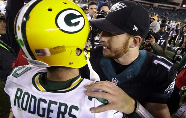 Rodgers and Wentz
