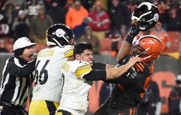 NFL Helmet Attack