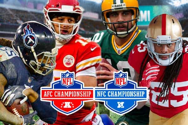AFC NFC Championship odds