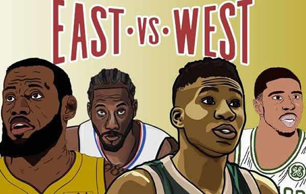 NBA East VS West