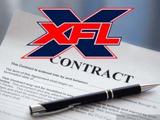 XFL Contract
