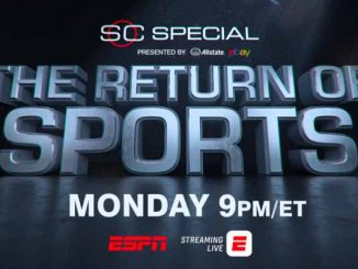 ESPN the return of sports