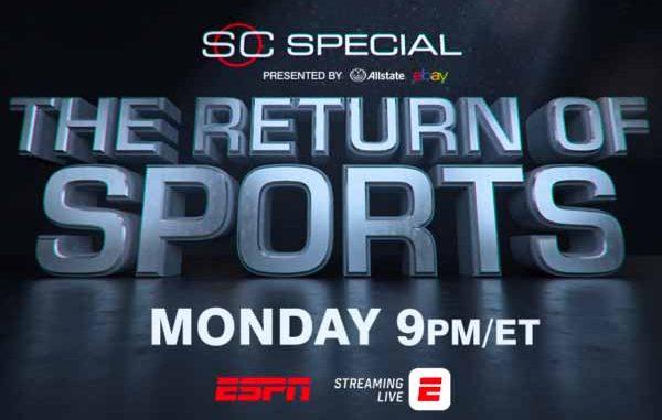 ESPN the return of sports