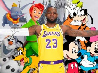 LeBron James and Disney