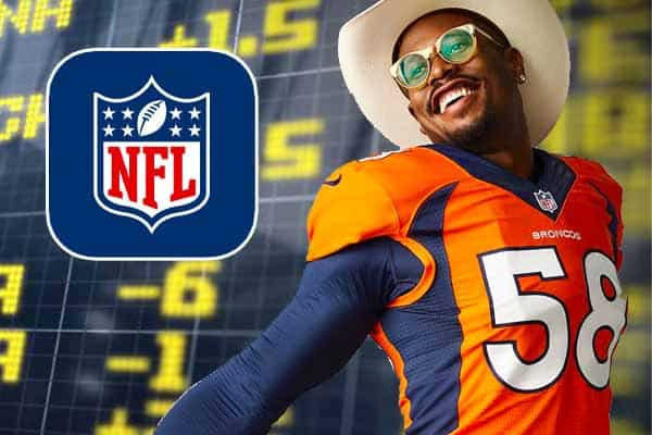 NFL Broncos sports betting