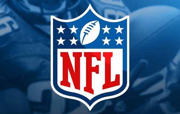NFL Logo on blue background
