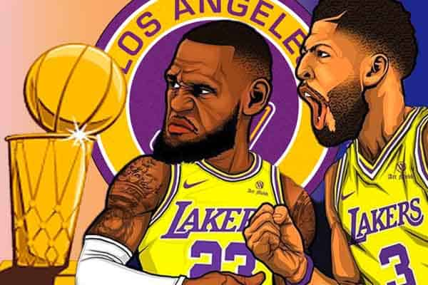 NBA Championship Lakers Odds