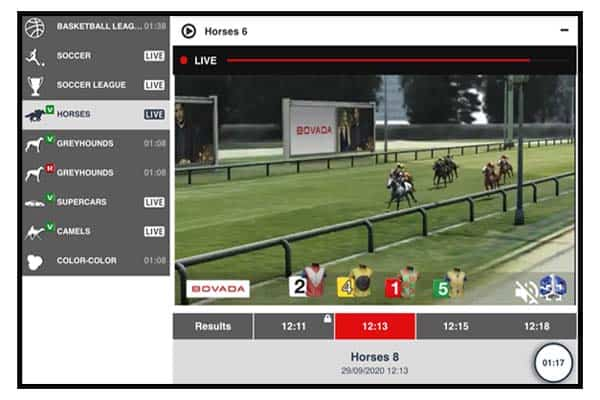 Virtual Sports Racing