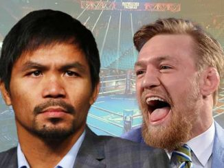 Pacquiao McGregor boxing fight 2021