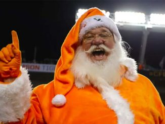 College Football Santa Clause