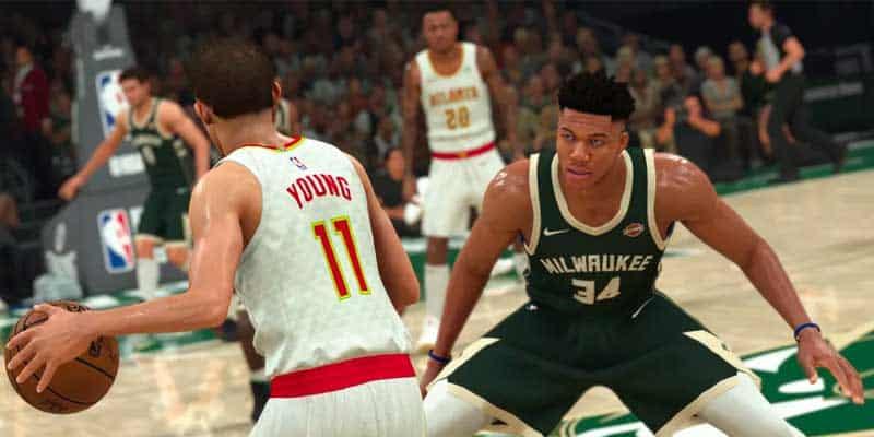 NBA2k gameplay