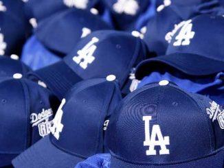 LA Dodgers hats