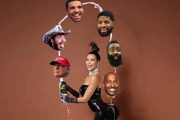 Kim Kardashian dating pool