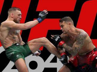 Conor McGregor broken leg