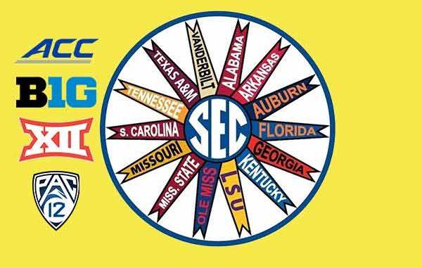 SEC betting NCAAF odds 2021-22 Alabama Auburn Florida