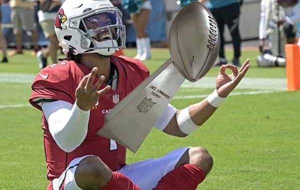 undefeated Kyler Murray dreams about Super Bowl 56 odds