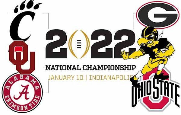 College Football Playoff Odds For SEC and other conferences 2021-22
